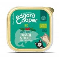 Pâtée en barquette pour chat - Edgard & Cooper, pâtée bio en barquettes pour chat Pâtée Bio Adulte Sans Céréales