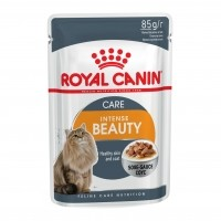 Sachet fraîcheur pour chat - ROYAL CANIN Intense Beauty 12 - Lot 12 x 85g
