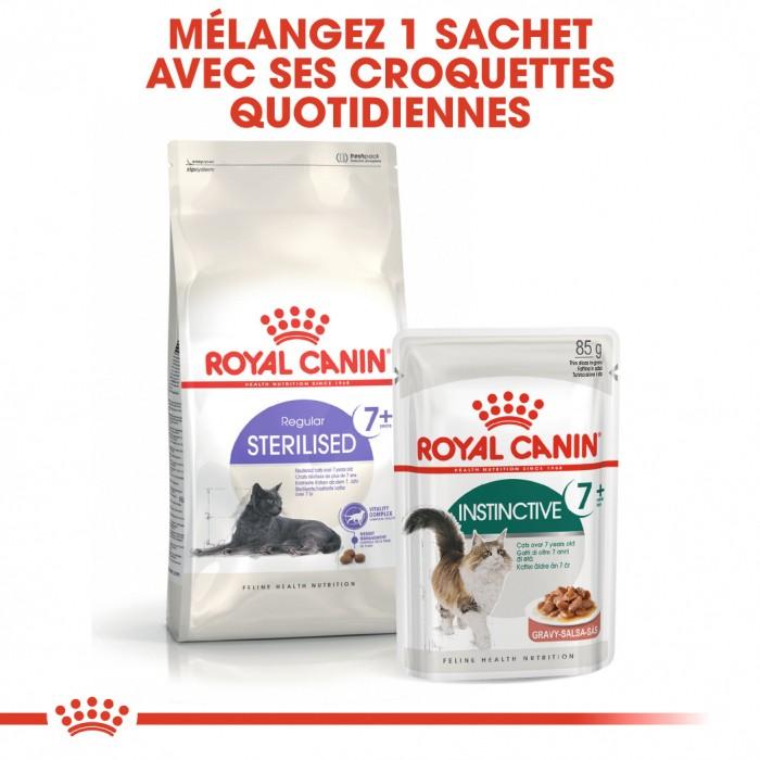 Alimentation pour chat - Royal Canin Instinctive 7+ pour chats