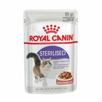 Sachet fraîcheur pour chat - ROYAL CANIN Sterilised - Lot 12 x 85 g