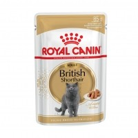 Sachet fraicheur pour chat - Royal Canin British Shorthair - Pâtée en sachet pour chat British Shorthair Adult sauce
