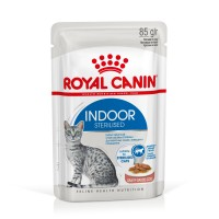 Sachet fraîcheur pour chat - Royal Canin Indoor Sterilised Indoor Sterilised - Lot 12 x 85 g