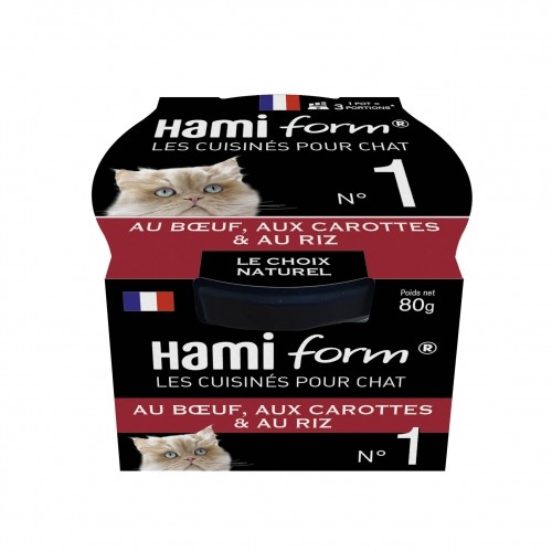Alimentation pour chat - Hamiform - Les cuisinés pour chat Recettes au Boeuf pour chats