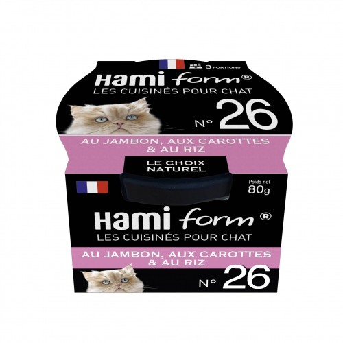 Alimentation pour chat - Hamiform - Les cuisinés pour chat Recettes au Jambon pour chats