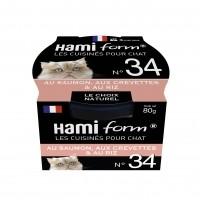Pâtée en boîte pour chat - Hamiform - Les cuisinés pour chat Recettes au Saumon Recettes au Saumon
