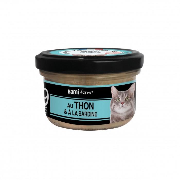 Alimentation pour chat - Hamiform - Les cuisinés pour chat Recettes au Thon pour chats