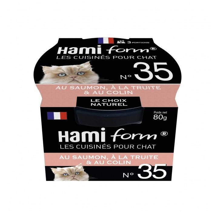 Alimentation pour chat - Hamiform - Les cuisinés pour chat Recettes au Saumon pour chats