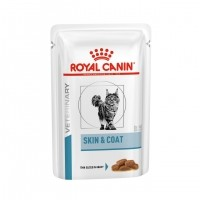 Sachet fraîcheur pour chat - ROYAL CANIN Skin Coat Formula - Lot 12 x 100g