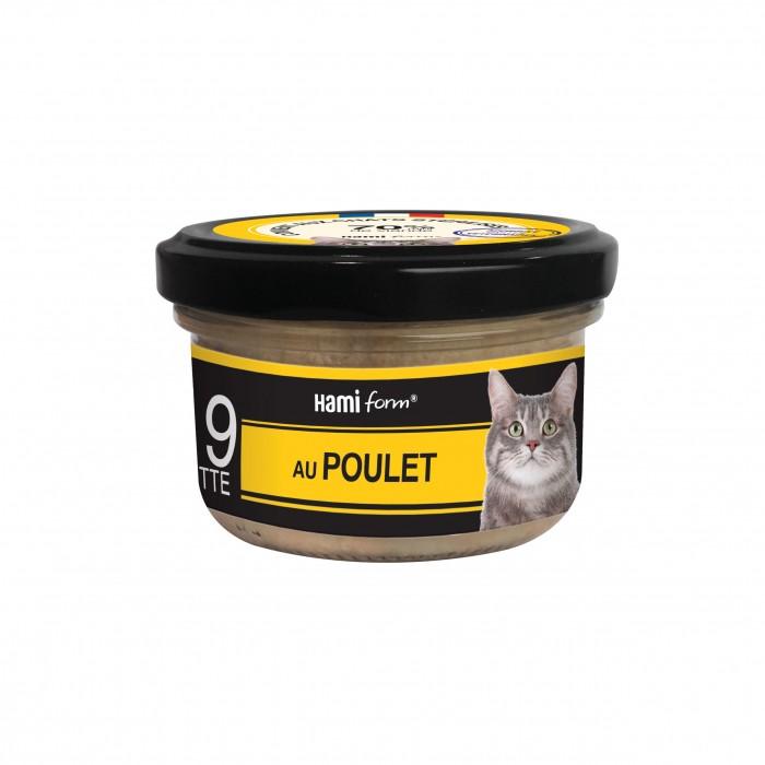 Alimentation pour chat - Hamiform - Les cuisinés pour chat Recettes au Poulet pour chats