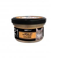 Pâtée en boîte pour chat - Hamiform - Les cuisinés pour chat Recettes au Poulet Recettes au Poulet