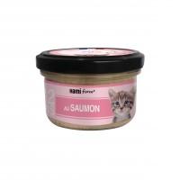 Pâtée en boîte pour chaton - Hamiform - Les cuisinés spécial chaton Recettes au Saumon et au Poulet