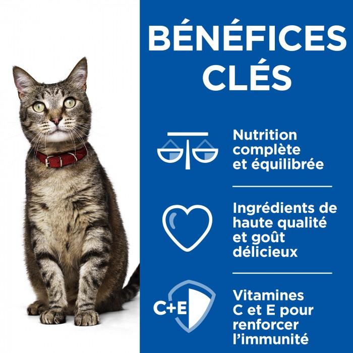 Alimentation pour chat - Hill's Science Plan Adult - Mijotés Healthy Cuisine pour chats