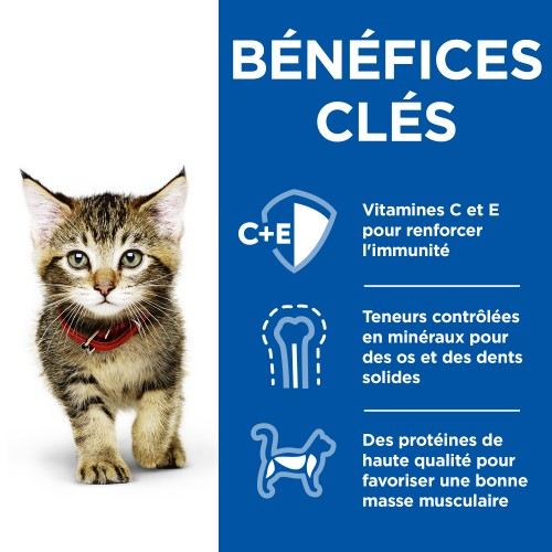 Alimentation pour chat - Hill's Science Plan Kitten - Mijotés Healthy Cuisine pour chats
