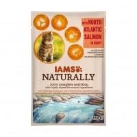 Sachet fraîcheur pour chat - IAMS  Naturally - lot de 24 x 85 g