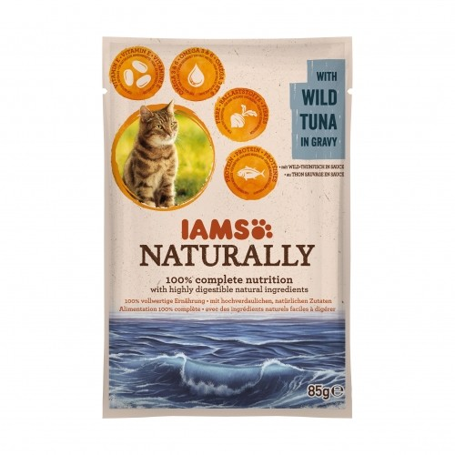 Alimentation pour chat - IAMS  Naturally - lot de 24 x 85 g pour chats