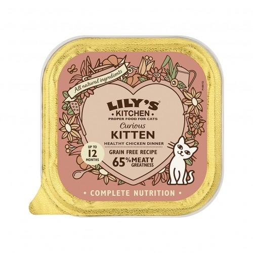 Alimentation pour chat - Lily's Kitchen Pâtée Chaton Sans Céréales pour chats