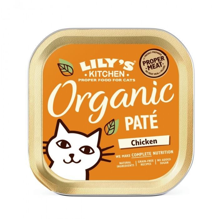 Alimentation pour chat - Lily's Kitchen Terrine Bio Sans Céréales pour chats