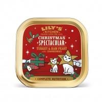Pâtée en barquette pour chat - Lily's Kitchen Pâtée de Noël pour chat Pâtée de Noël