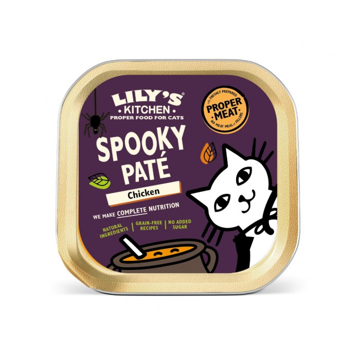 Alimentation pour chat - Lily's Kitchen Pâtée Spéciale Halloween pour chats