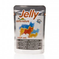 Sachet fraicheur pour chat  - ALMO NATURE Jelly Adult - Lot 6 x 70g