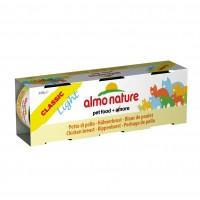 Pâtée en boîte pour chat - Almo Nature Light - Lot 6 x 50g Light - Lot 6 x 50g