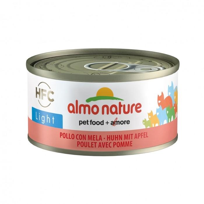 Alimentation pour chat - Almo Nature HFC Light - 6 x 70 g  pour chats