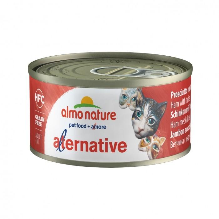 Alimentation pour chat - Almo Nature HFC Alternative - 6 x 70g pour chats