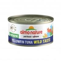 Pâtée en boîte pour chat - ALMO NATURE HFC Wild Taste - 6 x 70g