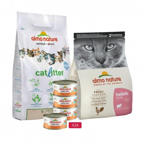 Alimentation pour chat - Almo Nature Kit pour chaton pour chats