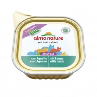 Pâtée en barquette pour chat - ALMO NATURE Daily Menu Bio -  Lot 6 x 100g