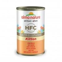 Pâtée en boîte pour chaton - ALMO NATURE HFC Kitten - Lot 6 x 140 g