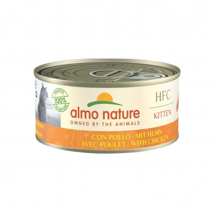 Alimentation pour chat - Almo Nature HFC Kitten - Lot 6 x 150 g pour chats
