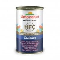 Pâtée en boîte pour chat - ALMO NATURE HFC Cuisine - Lot 6 x 140g