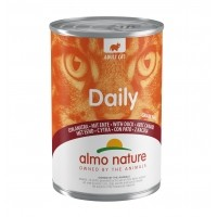 Pâtée en boite pour chat - ALMO NATURE Daily - 6 x 400 g
