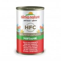 Pâtée en boîte pour chat - ALMO NATURE HFC Natural - Lot 6 x 140g