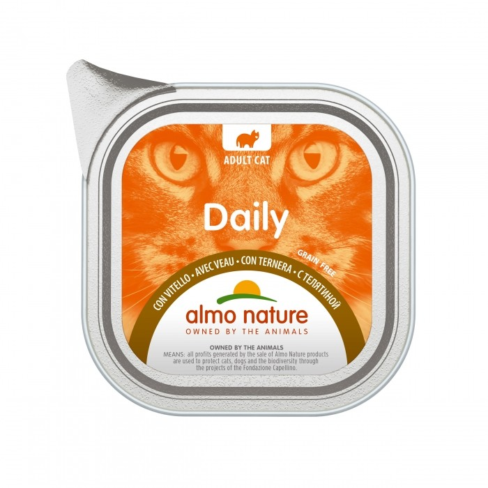 Alimentation pour chat - Almo Nature Daily - 6 x 100 g pour chats