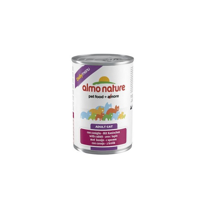 Alimentation pour chat - Almo Nature Daily - Lot 3 x 400 g pour chats