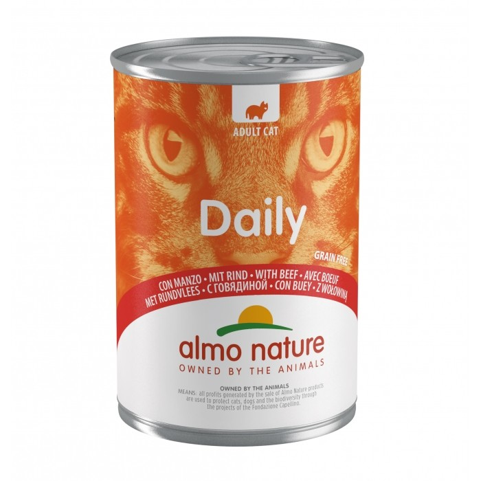 Alimentation pour chat - Almo Nature Daily - 6 x 400 g pour chats