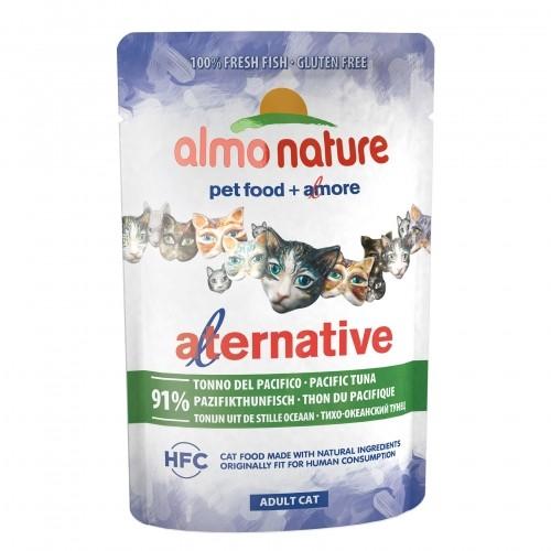 Alimentation pour chat - Almo Nature Alternative - Lot 6 x 55 g pour chats
