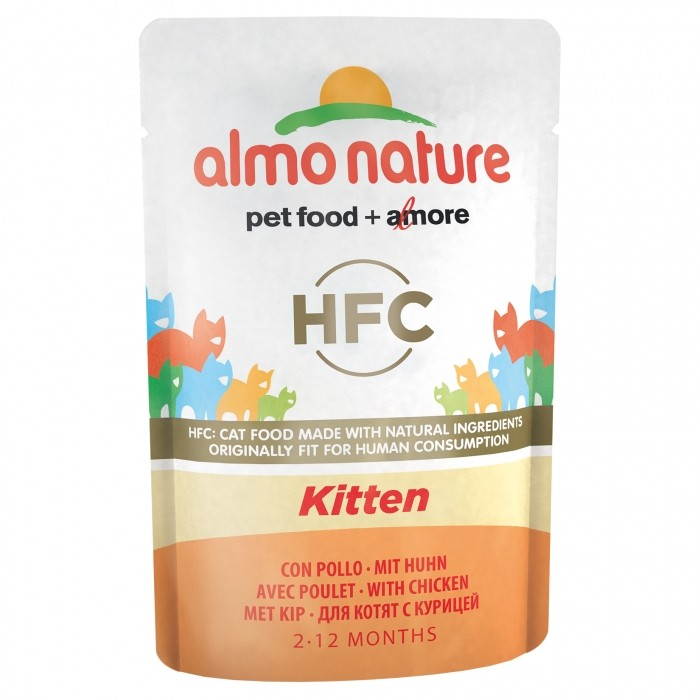 Alimentation pour chat - Almo Nature HFC Kitten - 6 x 55g pour chats