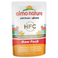 Sachet fraîcheur pour chat - ALMO NATURE HFC Raw Pack - Lot 6 x 55g