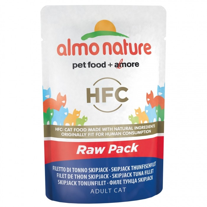 Alimentation pour chat - Almo Nature HFC Raw Pack - Lot 6 x 55g pour chats