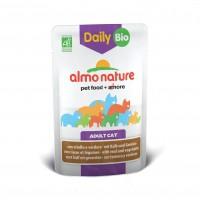 Bouchées en sauce pour chat - ALMO NATURE Daily Bio - Lot 6 x 70 g