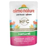 Sachet fraîcheur pour chat - ALMO NATURE HFC Natural - 6 x 55 g