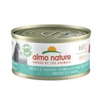 Pâtée en boîte pour chat - Almo Nature HFC Jelly - Lot 24 x 70g