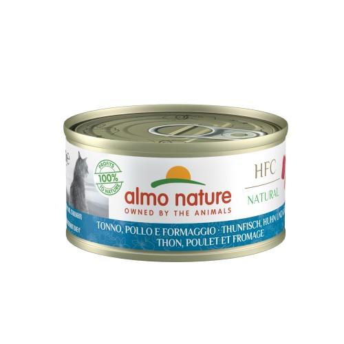 Alimentation pour chat - Almo Nature HFC Cuisine - Lot 24 x 70g pour chats