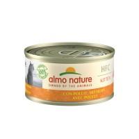 Pâtée en boîte pour chaton - Almo Nature HFC Kitten - Lot de 24 x 70 g