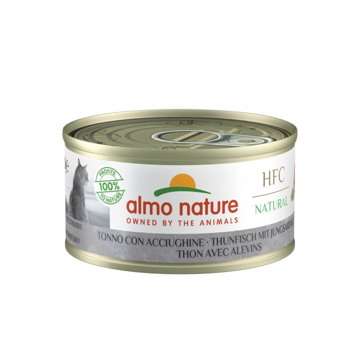 Alimentation pour chat - Almo Nature HFC Natural - 24 x 70g pour chats