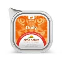 Pâtée en barquette pour chat - Almo Nature Daily - 32 x 100 g