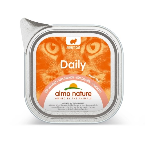 Alimentation pour chat - Almo Nature Daily - 32 x 100 g pour chats